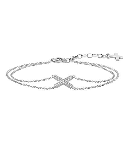 THOMAS SABO 经典 x 纯银和氧化锆手链