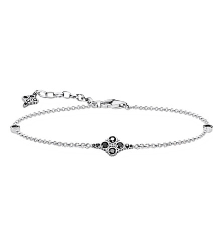 THOMAS SABO Royal Black sterling silver bracelet