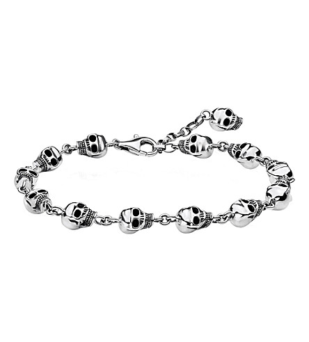 THOMAS SABO Rebel At Heart sterling silver bracelet