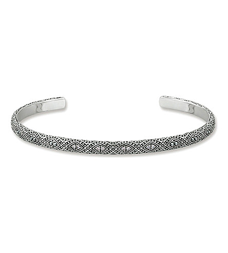 THOMAS SABO Dreamcatcher sterling silver bangle