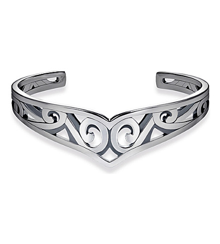 THOMAS SABO Maori Ornamentation sterling silver bangle