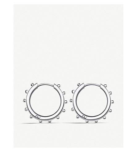 THOMAS SABO Studded sterling silver hoop earrings