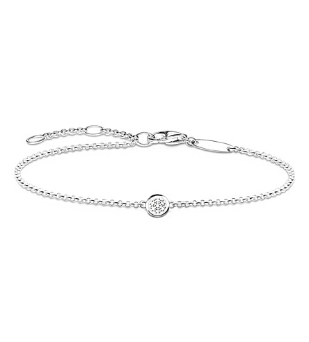 THOMAS SABO Glam and soul diamond pavé bracelet