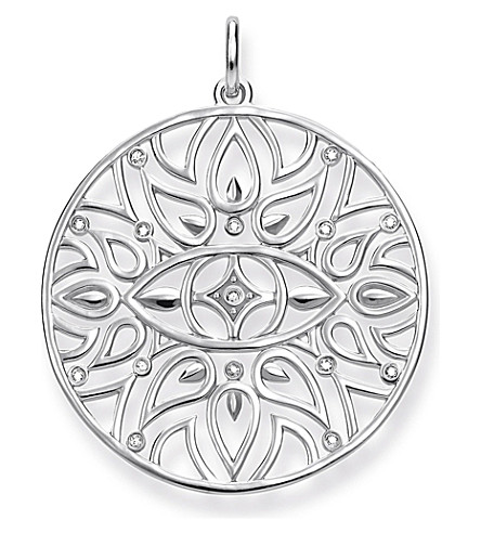 THOMAS SABO Evil Eye sterling silver pendant