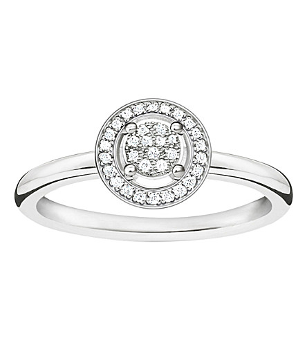 THOMAS SABO Glam & Soul sterling silver diamond ring
