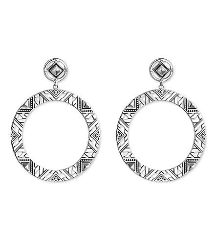THOMAS SABO Africa Ornaments sterling silver earrings