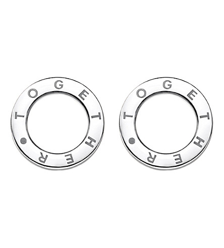 THOMAS SABO Together sterling silver earrings