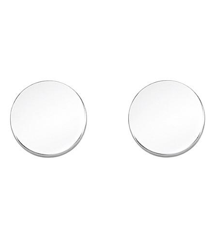 THOMAS SABO Glam & Soul sterling silver disc ear studs