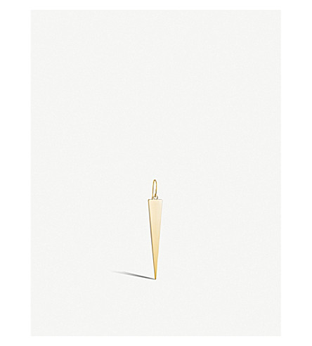 THOMAS SABO Triangle 18ct gold-plated earrings