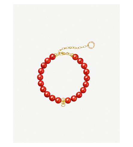 THOMAS SABO Chinese New Year 18ct yellow-gold charm bracelet