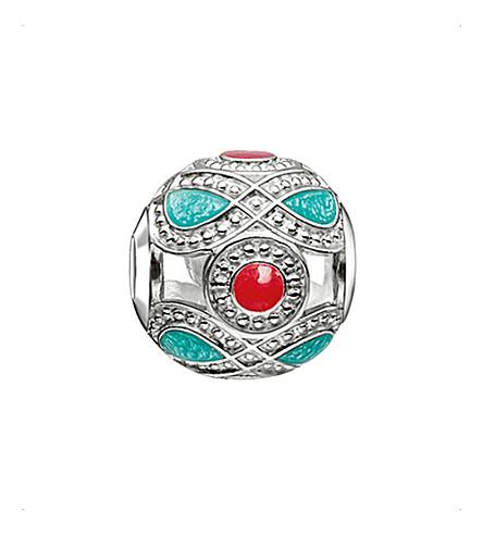 THOMAS SABO Karma beads ethnic sterling silver bead
