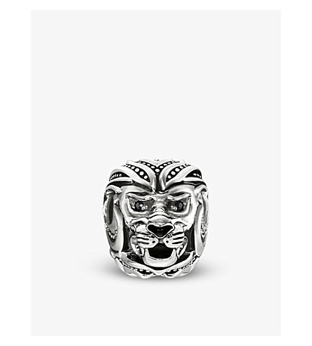 THOMAS SABO Lion sterling silver karma bead
