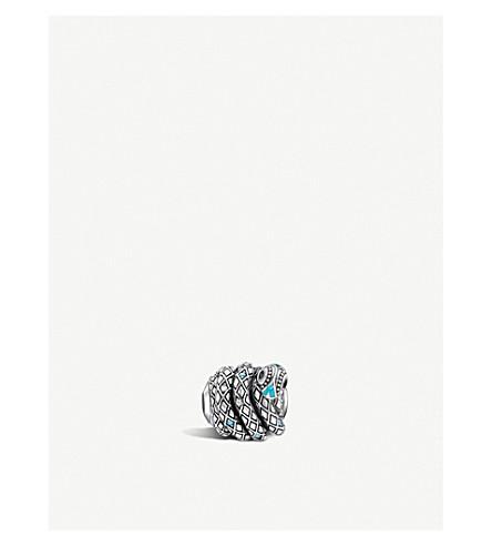 THOMAS SABO Snake sterling silver karma bead