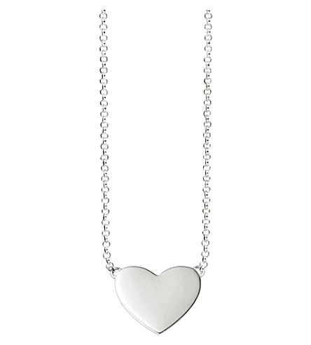 THOMAS SABO Glam & Soul Heart sterling silver pendant necklace