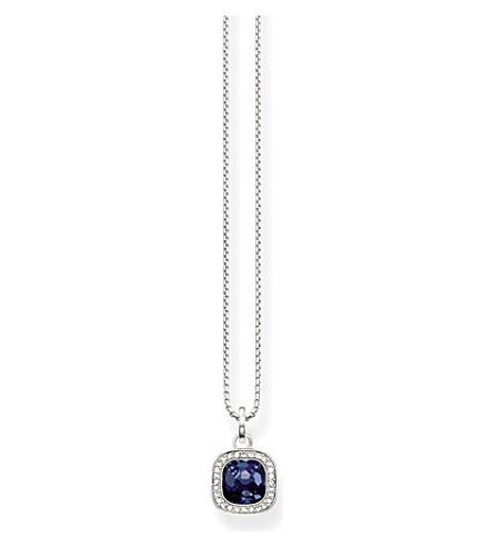 THOMAS SABO Secret of cosmo sterling silver necklace