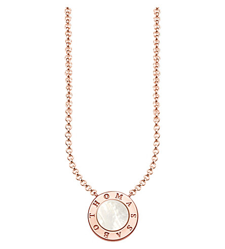 THOMAS SABO Glam & Soul Classic rose gold-plated stering silver necklace