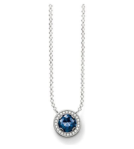 THOMAS SABO Light of Luna sterling silver necklace