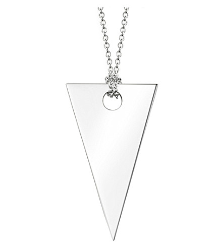 THOMAS SABO Sterling silver triangle necklace