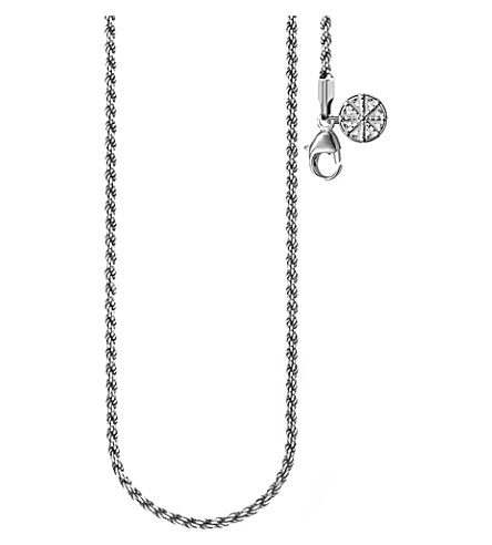THOMAS SABO Karma Wheel sterling silver necklace