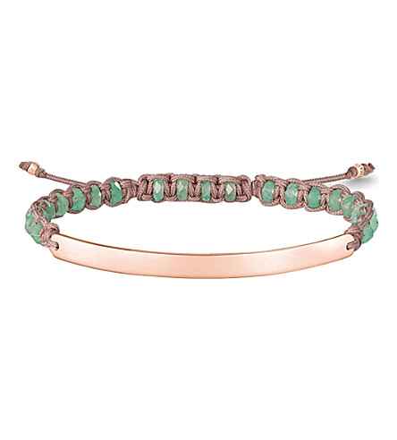 THOMAS SABO Love Bridge 18st rose gold-plated bracelet