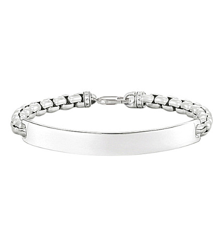 THOMAS SABO Lovebridge sterling silver venetian chain bracelet