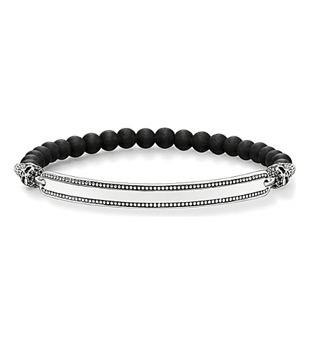 THOMAS SABO Skull Love Bridge sterling silver bracelet
