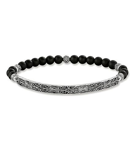 THOMAS SABO Maori Love Bridge sterling silver bracelet