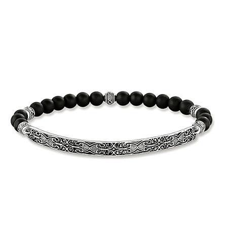 THOMAS SABO Maori Love Bridge sterling silver bracelet