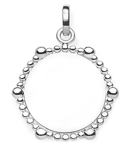 THOMAS SABO Love Bridge Coin Dots sterling silver pendant