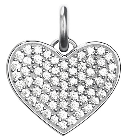 THOMAS SABO Love Coin sterling silver and zirconia pendant