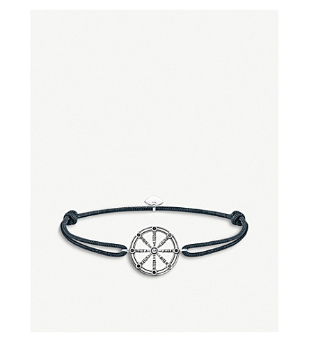 THOMAS SABO Little Secrets Karma wheel sterling silver bracelet