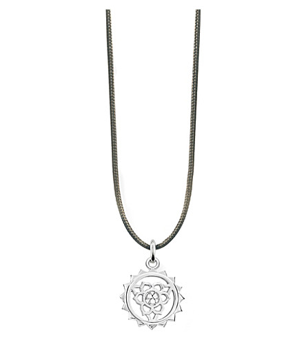 THOMAS SABO Little Secrets sterling silver chakra neckla (Grey