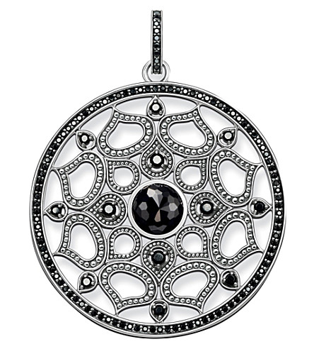 THOMAS SABO Mandala Amulet sterling silver pendant