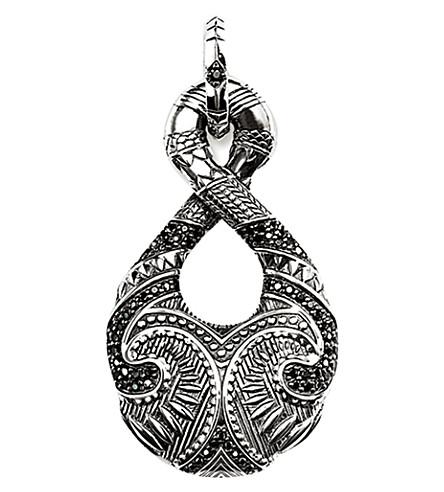 THOMAS SABO Rebel at Heart sterling silver maori infinity pendant