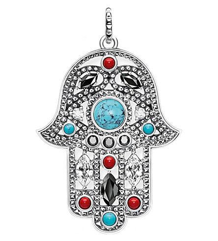 THOMAS SABO Hand of Fatima sterling silver pendant