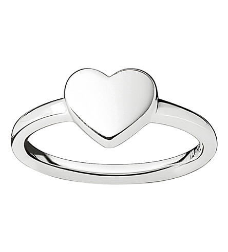 THOMAS SABO Classic silver heart ring