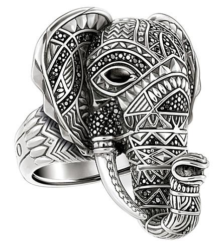 THOMAS SABO 象头纯银戒指