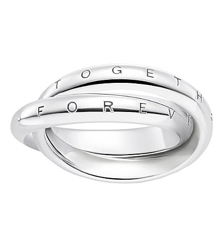 THOMAS SABO Forever Together sterling silver ring