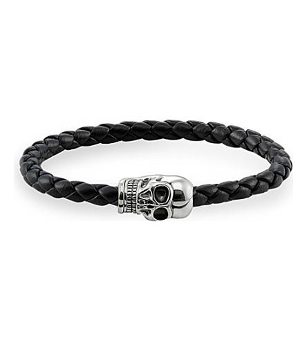 THOMAS SABO Silver skull unity bracelet