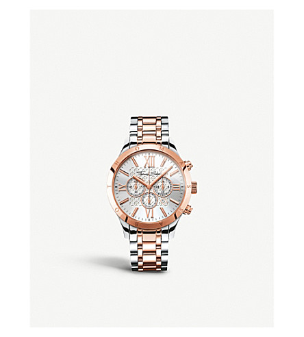 THOMAS SABO Rebel at Heart two-tone chronograph watch