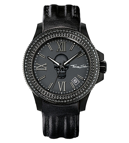 THOMAS SABO Rebel at heart skull watch