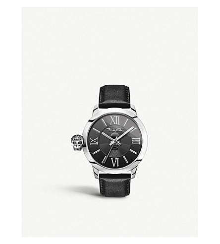 THOMAS SABO Rebel with Karma stainless steel watch