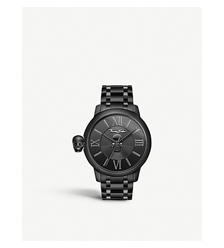THOMAS SABO WA0305202203 Rebel with karma stainless steel watch