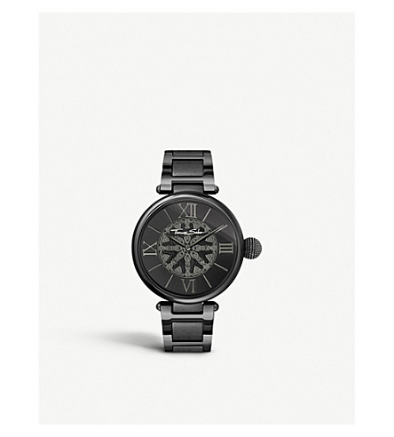 THOMAS SABO WA0307-202-203 Glam & soul karma wheel sterling silver watch