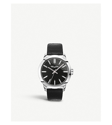 THOMAS SABO WA0312 Rebel at Heart stainless steel and leather watch