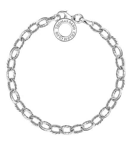 THOMAS SABO Charm Club sterling silver vintage style charm bracelet (Metallics