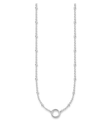 THOMAS SABO Charm Club dot sterling silver necklace