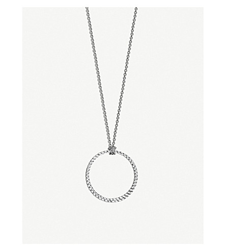 THOMAS SABO Sterling silver charm necklace