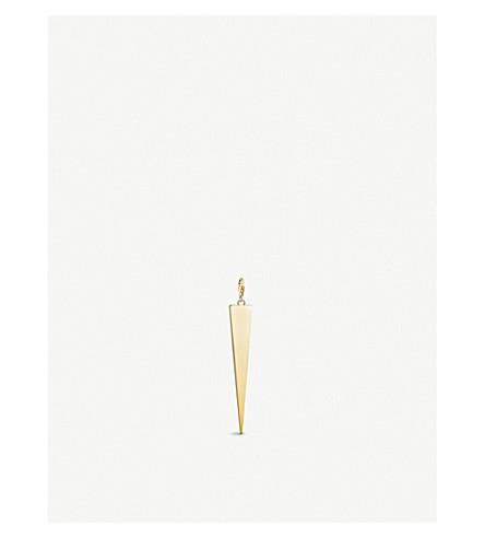 THOMAS SABO Triangle 18ct yellow-gold charm