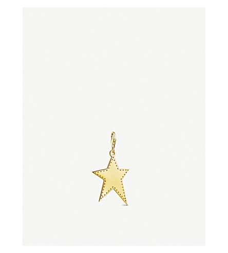 THOMAS SABO Irregular star 18ct yellow-gold charm